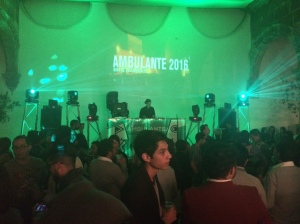 The best dance party was Ambulante! DJ Gil Cerezo from Kinky
